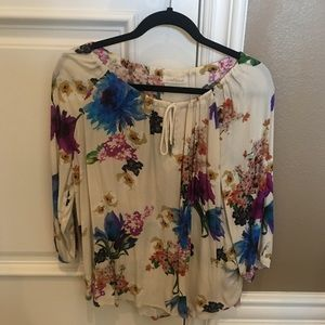 [LIKE NEW] AirField: Floral Blouse